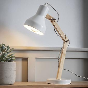 Garden Trading Folgate Desk Lamp In Lily White