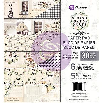 Prima Marketing Spring Maalaistalo 8x8 Tuuman Paperityyny