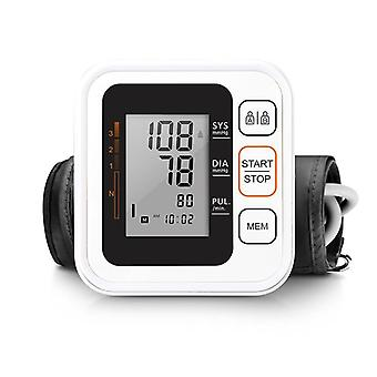 Portable Digital Upper Arm Blood Pressure Monitor - Heartbeat Test Health Care Monitor 2 Cuff