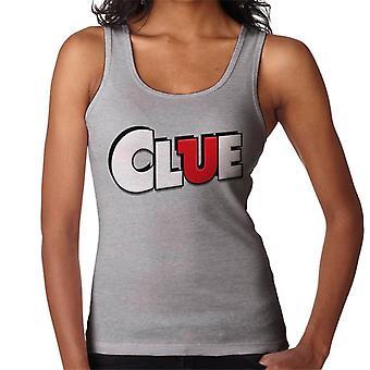 Hasbro Cluedo Clue Logo Women's Vest