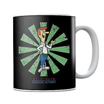 George Jetson Retro Japanese Mug