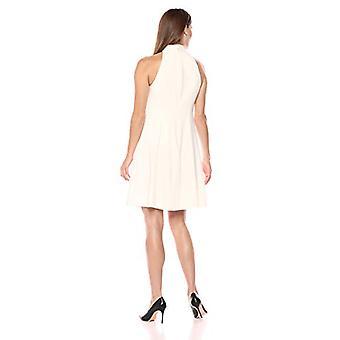 Merk - Lark & Ro Women's Sleeveless Mock Neck A-Line Dress