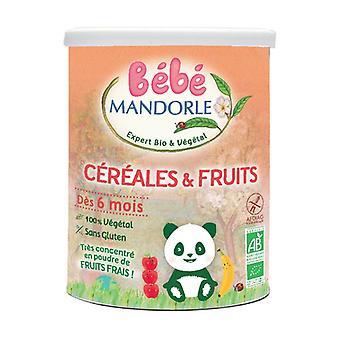 Céréales et fruits à partir de 6 mois Bio 400 g de poudre