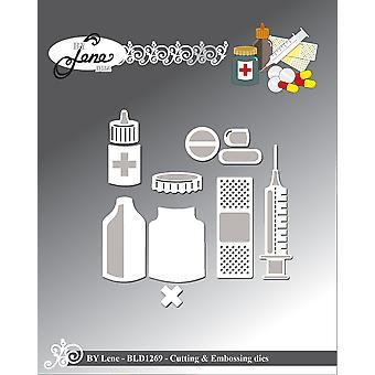 Par Lene Medical Stuff 2 Cutting & Meurt en relief
