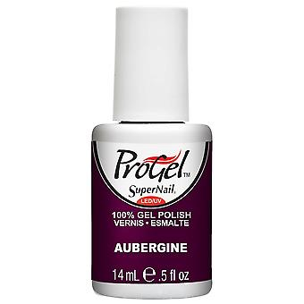 SuperNail ProGel Gel Nail Polish - Aubergine 14ml