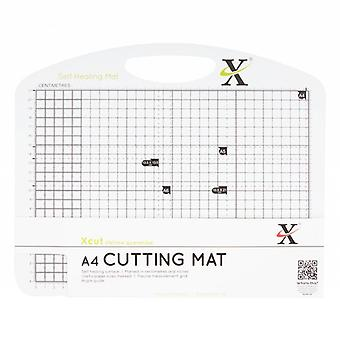 Xcut A4 Self Healing Duo Cutting Mat - Svart & Vit