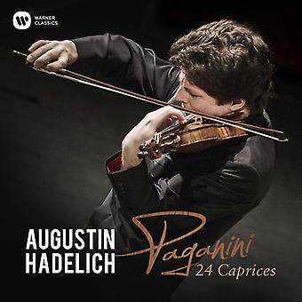 Hadelich*Augustin - Paganini: 24 Caprices [CD] USA import