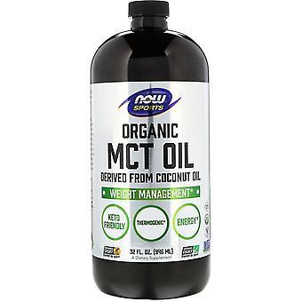 Now Foods, Sports, Organic MCT Oil, 32 fl oz (946 ml)