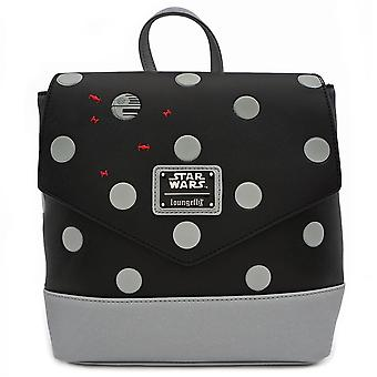 Loungefly X Star Wars Polka Death Star Dot Mini Pu Backpack