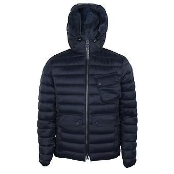 Barbour international men's navy ouston jacket