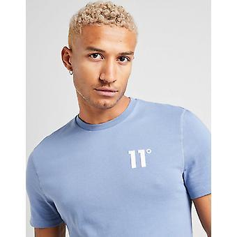 New 11 Degrees Men's Core Short Sleeve T-Shirt Blue