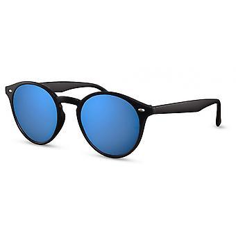 نظارات شمسية يونيسيكس بانتو الأسود / الأزرق (CWI535)