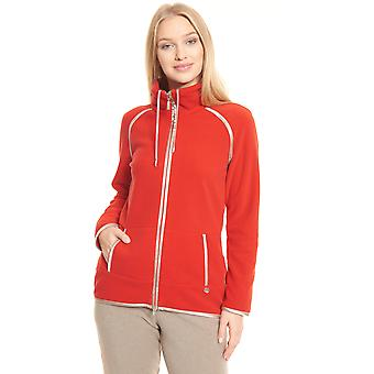 Féraud Casual Chic 3201138-16354 Women's Red Loungewear Jacket