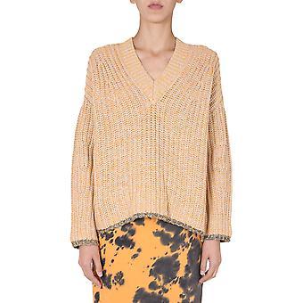 Mcq Door Alexander Mcqueen 603932rpk147643 Dames's Orange Cotton Sweater