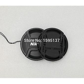 Nikon Lens Cap - 49, 52, 55, 58, 62, 67, 72, 77, 82mm Center Pinch Snap-on Cap
