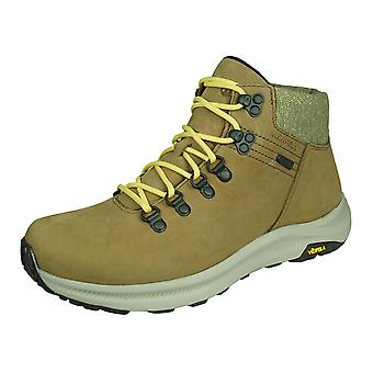 Merrell Ontario Mid WP Womens Leather Hiking Boots - Brown