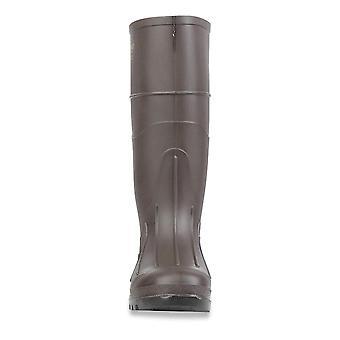 "Servus Iron Duke 15"" PVC Polyblend Soft Toe Men's Work Boots, Brown"