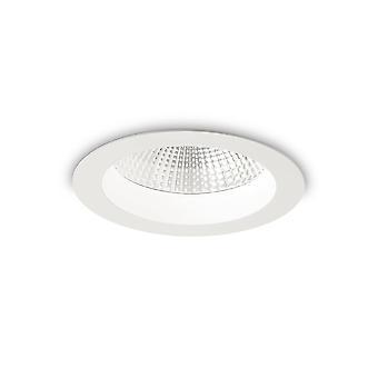 LED 1 Light Recessed Spotlight White IP44