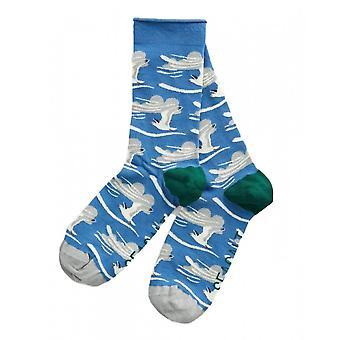 Seasalt Bamboo Arty Sock (verre Meeuwen Waterfront)