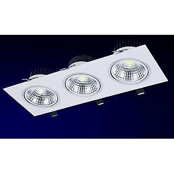 Grille Light 3*7w Ac85-265v Led Spot Light