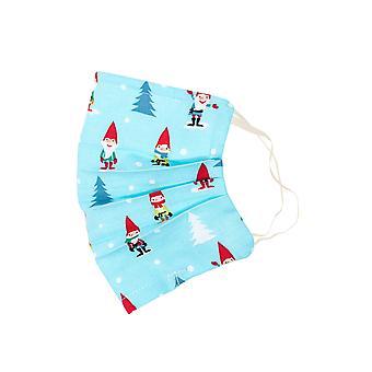Mio Santas Little Helpers Cotton Christmas Face Mask
