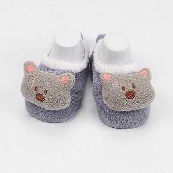 Winter Baby Boy Girl Socks Anti Slip Soft Warm