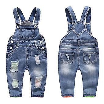 子供のジーンズパンツ、デニムトラウザーズキッズ