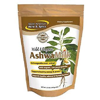 Mistura de bebidas ashwamilk de ervas e especiarias norte-americanas, 3,5 Oz