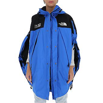 Mm6 X The North Face S62an0040s53390521 Women's Blue/black Nylon Outerwear Jacket