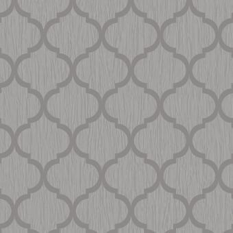 Crystal Trellis Wallpaper Silver Debona 8897