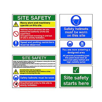 Scan Construction Site Pack 5-Pack SCA13974