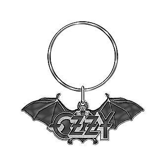 Ozzy Osbourne Keyring keychain Ordinary Man Band Logo new Official Grey