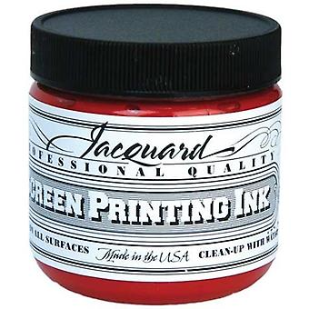 Bright Red - Jacquard Professional Screen Printing Inks 4oz