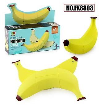 Cube Fruit-model Banana/apple/lemon 2x2x3, Unequal Special Cute-shape Toys