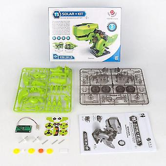 3 In 1 Solar Energy Robotic Dinosaur Kits-diy Assembly