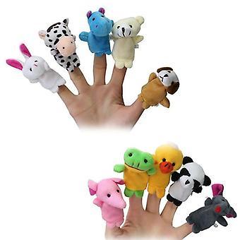 Finger دمية الحيوان محشوة أفخم