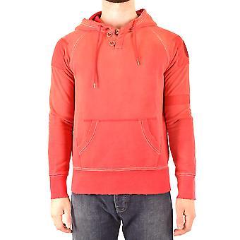 Armani Jeans Ezbc039169 Herren's rotes Baumwoll-Sweatshirt