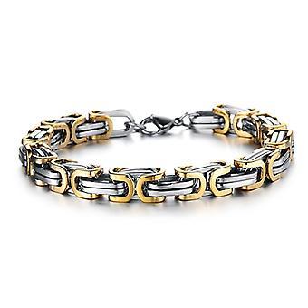 Fashion Titanium Steel Irregular Geometric Cuff Bracelets Ethnic Bracelet