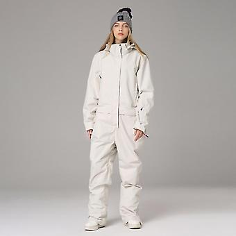 Man Women Waterproof Hooded Sport Snow Skiing Suit Winter Outdoor Wear