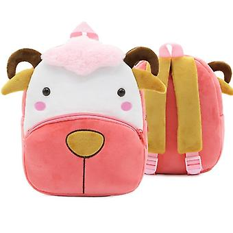 Cartoon Animal Design Kindergarten School Bag