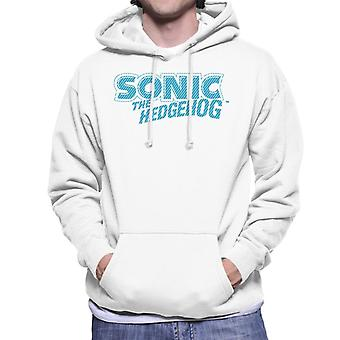 Sonic The Hedgehog Sininen Raita Logo Men's Huppari