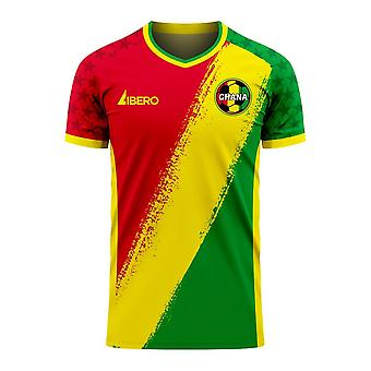 Ghana 2020-2021 Away Concept Football Kit (Libero)