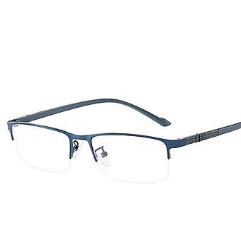 Lunettes en alliage de titane pour hommes, lentilles non sphériques, lunettes de lecture