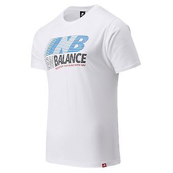 New Balance 3513 MT03513WT universel toute l'année hommes t-shirt