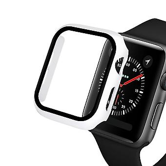 Glass+case For Apple Watch Serie 6 5 4 3 Se 44mm 40mm Iwatch Case