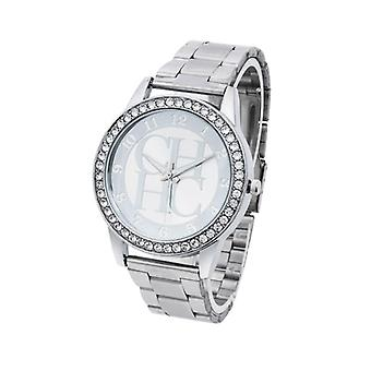 Edelstahl Sportuhr, Quarz Damen's Uhren