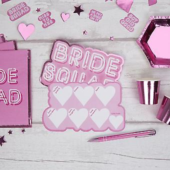 Bride Squad Hen Party Advice Cards - 10 Cards