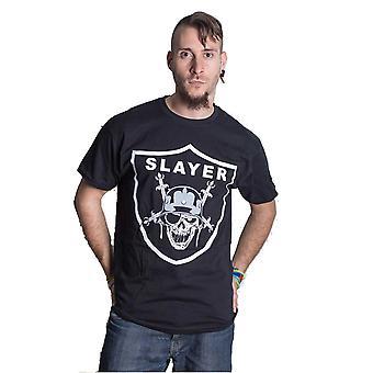 Slayer Slayders Shield Official Tee T-Shirt Mens Unisex