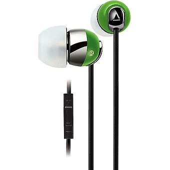 Creative In-ear Headset with in-line Remote and Mic - Lime Green - HS-660i2