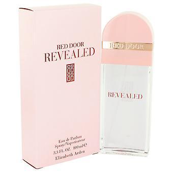 Punaisen oven paljasti Elizabeth Arden Eau De Parfum Spray 3,4 oz/100 ml (naisten)
